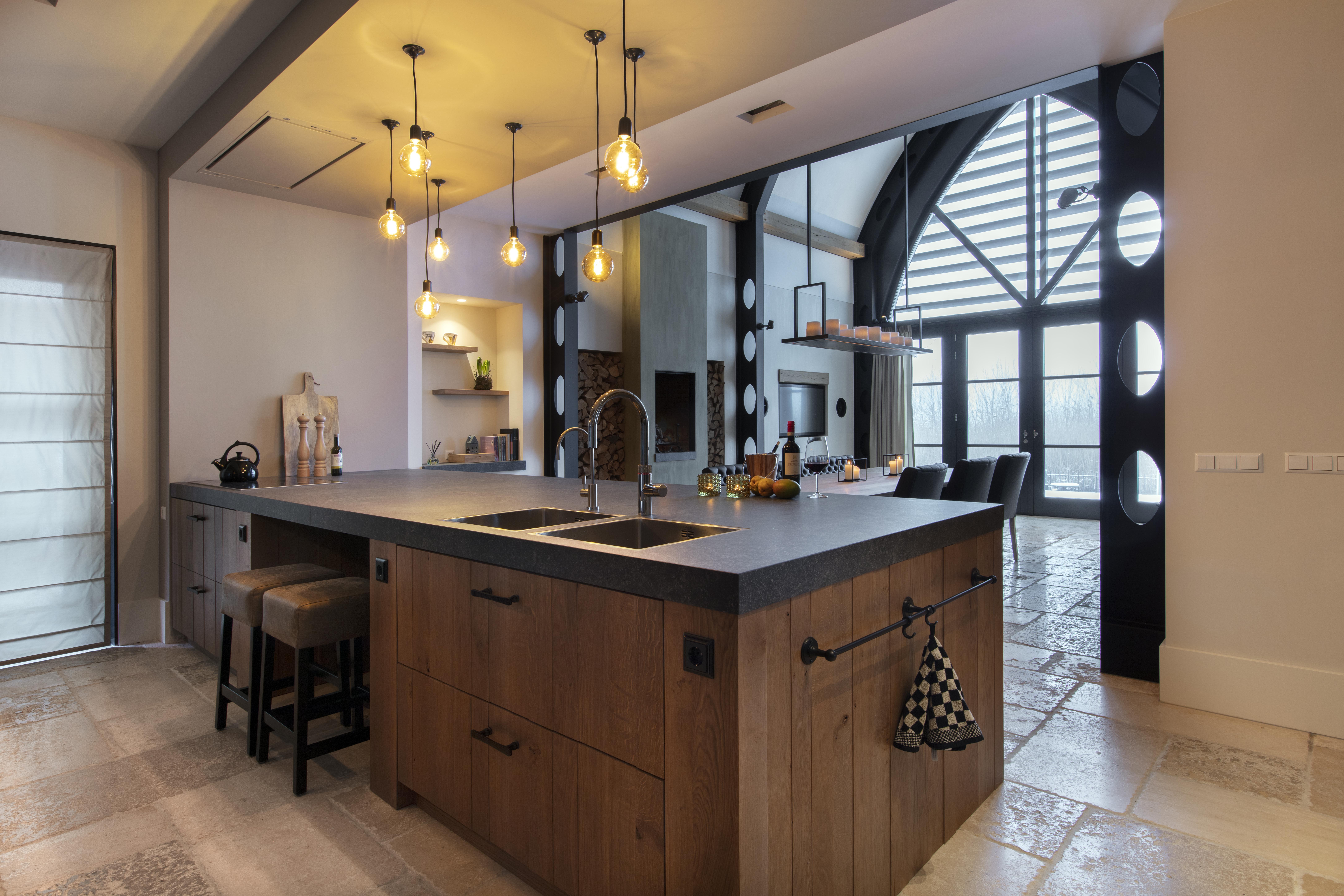 Beste Massief eiken keuken in landelijke stijl - Huisman keukens en sanitair XG-55